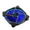 乔思伯 Eclipse日食-炫光蓝 散热风扇(12CM/LED发光风扇/PWM温控/静音/主板4PIN接口)产品图片3