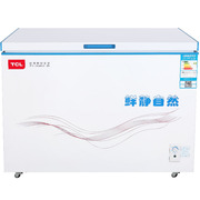 TCL BD/BC-311SQD 311升 冷藏冷冻卧式变温柜 节能静音(白色)