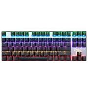 达尔优 机械师2代点彩版 87键背光机械键盘 青轴 黑色