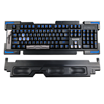 赛德斯 裁决 机械键盘有线背光游戏键盘 黑色黑轴产品图片主图