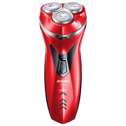 超人 SA7256 全身水洗剃须刀 USB快充电动剃须刀(红色)