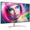 飞利浦 323E7QJSK8 31.5英寸 IPS面板 2.5K全高清QHD  HDMI\DP接口 纤薄液晶显示器产品图片2
