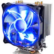 先马 冰雪130 双平台5热管130瓦CPU散热器速冷安静易安装