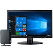 海尔  云悦mini S-J7 台式电脑(Intel四核J3160 4G 1TB 核心显卡 WIFI USB3.0 Win10 )19英寸