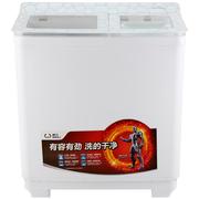 威力 XPB95-9518BS(白水晶)9.5公斤 半自动双缸洗衣机 双电机双动力