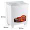 威力 XPB95-9518BS(白水晶)9.5公斤 半自动双缸洗衣机 双电机双动力产品图片2