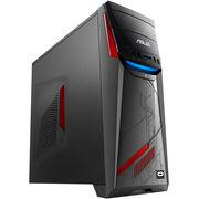 华硕 G11飞行堡垒 游戏台式电脑主机 (I5-6400 8G内存 1TB GTX760 2G独显 800万色呼吸灯 win10)