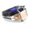 爱国者 黑暗骑士 M10 CUP散热器(多平台/全镀镍/四热管/塔皇/硅脂)产品图片2