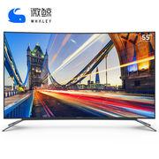 微鲸 W55C1J 55英寸4K超高清 智能液晶曲面电视(灰色)