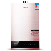 万和 JSQ24-335W12 CO报警器 智能恒温燃气热水器 12升(玫瑰金)(天然气)