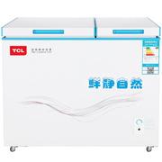 TCL KCD-169SQD 169升 双温卧式冷柜 冰柜 节能静音(白色)