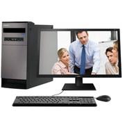 清华同方 精锐X200-BI03  20.7英寸台式电脑(G3900 4G DDR4 500G集成显卡 前置4*USB WIN10)