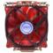 超频三 星际原力S1211 CPU散热器 (多平台/5热管/12cm双风扇/智能/带温测转速显示屏/附带硅脂)产品图片3