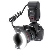 美科 MK-14EXT-C 环形闪光灯 适配佳能单反相机
