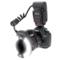 美科 MK-14EXT-C 环形闪光灯 适配佳能单反相机产品图片1
