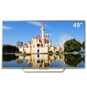 索尼 U9+ 49英寸高清4K 安卓6.0系统 智能液晶电视(KD-49X7066D 金色)