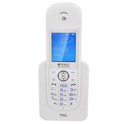 TCL -T18 中文菜单数字电信手持插卡电话机(白色)