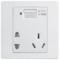 公牛 五孔带USB接口插座 墙壁开关插座86型面板G07E335产品图片1