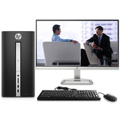 惠普 TPC-W030-SF 510-p032cn台式电脑(i3-6100T 4G DDR4内存 1T R5 2G独显 WiFi Win10)23英寸显示器