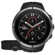 颂拓 spartan ultra斯巴达极限Ambit拓野4智能彩屏触控GPS户外运动手表精钢黑色心率SS022658000