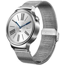 华为 watch 智能手表 运动手表测心率防水安卓运动手环不锈钢编织表带产品图片主图