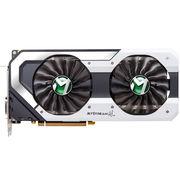 铭瑄 GTX1080 Super JetStream 8G 1708-1848MHz/10000MHz 8G/256bit GDDR5X PCI-E游戏显卡