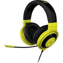 雷蛇  北海巨妖专业魔彩版(黄色) 游戏耳机产品图片主图