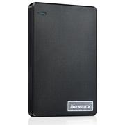纽曼 清风 1TB  轻薄 防震 安全 稳定 快速 液压平衡滚轴系统 2.5英寸 USB3.0 移动硬盘 风雅黑