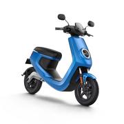 小牛 M1智能电动踏板车 动力标准版/动力安全版M1 白/黄/红/蓝/灰 蓝色 动力版 动力安全版