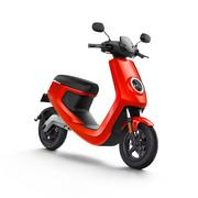 小牛 M1智能电动踏板车 动力标准版/动力安全版M1 白/黄/红/蓝/灰 红色 动力版 动力标准版