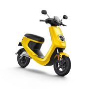 小牛 M1智能电动踏板车 动力标准版/动力安全版M1 白/黄/红/蓝/灰 黄色 动力版 动力标准版