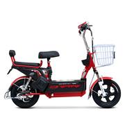 小刀 电动车 TDT-1610Z 新款48V20AH电动自行车 成人代步踏板车金钥匙哑光星空红