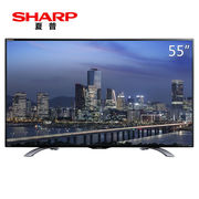 夏普 LCD-55DS6000A 55英寸 4K超高清智能液晶电视(黑色)