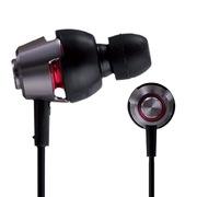 松下 RP-HJX20 黑色 双轴驱动入耳式耳机 低音强大 音效清晰