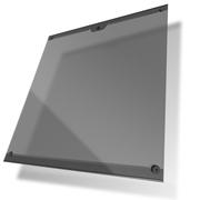 酷冷至尊 钢化玻璃侧板(支持MasterCase 5全系列机箱/大面积侧透内装一览无遗/防盗锁头)黑色