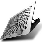 酷冷 MasterNotepal Maker支架式散热垫(模组化/分离式集线器/卡扣式风扇)银色