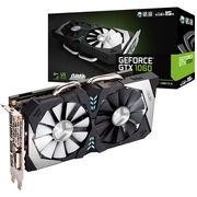 铭瑄 GTX1060终结者6G 1506-1708/8000MHz/6G/192bit GDDR5 PCI-E 3.0显卡