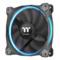 Thermaltake Riing 12cm RGB 套装软体版 机箱风扇(软件控制/风扇*3/RGB变色/减震系统/静音技术)产品图片2