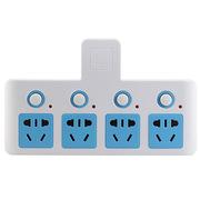 惠尔金 HJ-013 四位四开关独立控制转换器/插座/插排/插线板