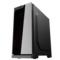 爱国者 炫影 黑色 分体式机箱(支持ATX主板/钢化玻璃面板/USB3.0/HD音频/大侧透/支持背线)产品图片3