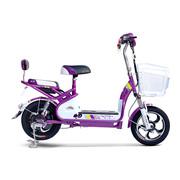 小刀 TDT-1518Z 电动自行车48V含电池 全新滑板车电瓶车代步车48v 小鱼儿A琉璃紫