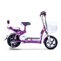 小刀 TDT-1518Z 电动自行车48V含电池 全新滑板车电瓶车代步车48v 小鱼儿A琉璃紫产品图片主图