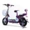 小刀 TDT-1518Z 电动自行车48V含电池 全新滑板车电瓶车代步车48v 小鱼儿A琉璃紫产品图片4