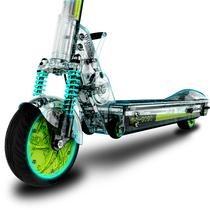 mini-gogo 成人两轮迷你折叠电动车 电瓶自行车踏板车锂电池代步车便携代驾 升级款黄白10ah 续航35km左右产品图片主图