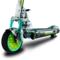 mini-gogo 成人两轮迷你折叠电动车 电瓶自行车踏板车锂电池代步车便携代驾 升级款黄白10ah 续航35km左右产品图片1