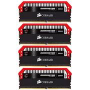 海盗船 统治者铂金 ROG红色定制款 DDR4 3200 16GB(4Gx4条)台式机内存