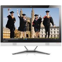 联想  AIO 300 23英寸教育一体机电脑(A8-7410 4G 1T R5_A330 2G独显 WiFi 摄像头 Win10)白色产品图片主图
