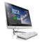 联想  AIO 300 23英寸教育一体机电脑(A8-7410 4G 1T R5_A330 2G独显 WiFi 摄像头 Win10)白色产品图片2