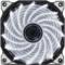 鑫谷 极风白灯风扇(12cm静音机箱风扇/15颗高亮灯珠/减震胶垫)产品图片1