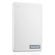 纽曼 清风 500G 限量版套装(内赠硬盘包)轻薄 防震 安全 快速 2.5英寸 USB3.0 移动硬盘 清新白